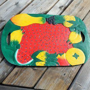 Beautiful Tropical Serving Tray Fruit Platter